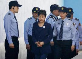 Park Geun Hye, nữ tù nhân ở xà lim 503