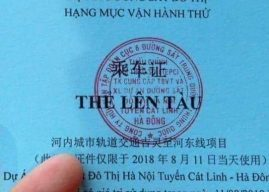 Người Việt phản ứng gay gắt về vé tàu in chữ TQ
