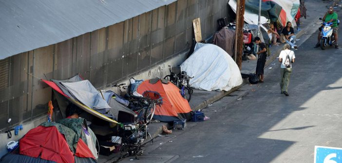 Millions of homeless in the US, but illegal is priority one for blue state
