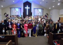 Lễ kỷ niệm vinh danh người lính Việt Nam Cộng Hòa tại Arlington, Texas
