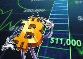 Bitcoin Soars Above $11k For First Time Since March 2018, Ether Tops $300