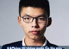 JOSHUA HOÀNG CHÍ PHONG –LINH HỒN DÂN CHỦ NHÂN QUYỀN HONG KONG 2011-2019   CHA LÀ MỤC SƯ TIN LÀNH HONG KONG, MẸ LÀ NGƯỜI VIỆT