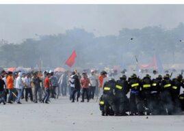 """Hà Nội diễn tập chống """"cách mạng màu sắc"""" giữa căng thẳng Biển Đông"""