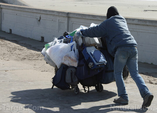 The capital of California is collapsing into chaos, feces, drug addiction and homelessness…