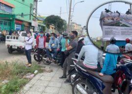 Cơ quan chức năng địa phương lại vây vườn rau Lộc Hưng