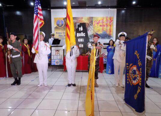 Lễ tưởng niệm chiến sĩ Hoàng Sa 2020 tại Dallas Fort Worth