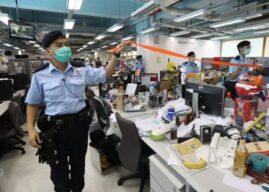 Hong Kong: Swarm of 200 Police Raid Anti-Communist Newspaper