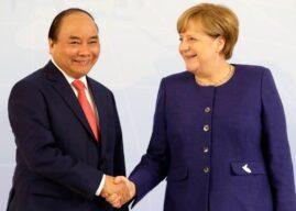 Thủ tướng Việt Nam cám ơn Đức ủng hộ EVFTA, đề cập vấn đề Biển Đông