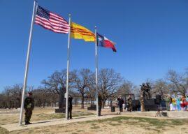 Lễ chào quốc kỳ đầu năm tại Tượng Đài Chiến Sĩ Việt Mỹ Dallas/ Fort Worth